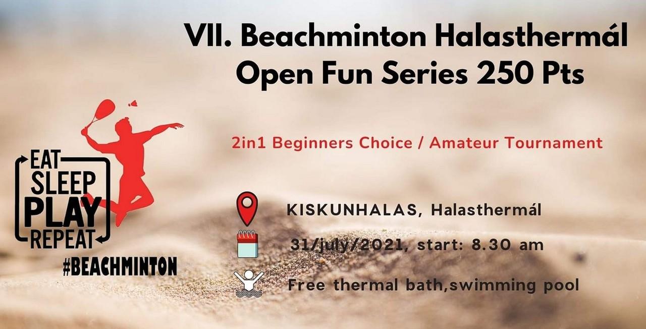 VII. Beachminton